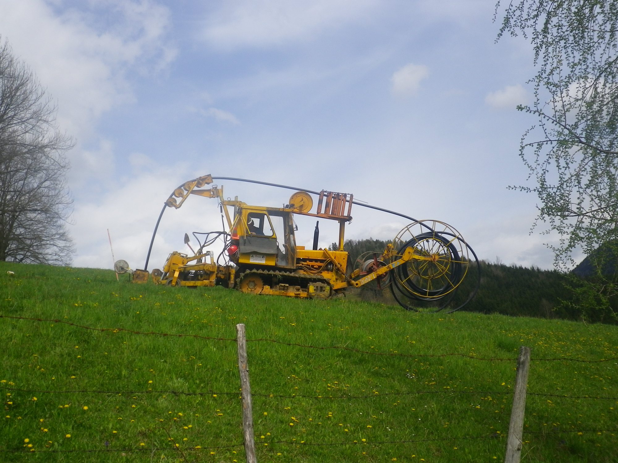 Kabelpflug
