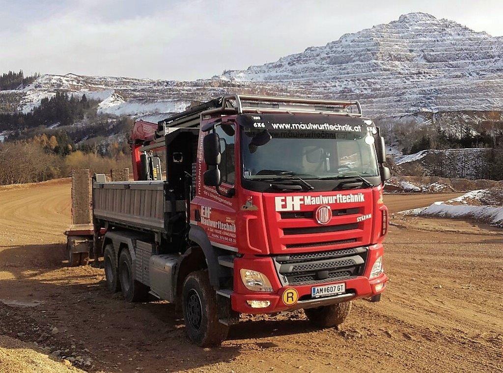Der neue LKW Tatra